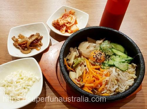 ブリスベン 韓国料理 Maru