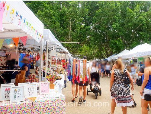 ユーマンディマーケット Eumundi Market (2)