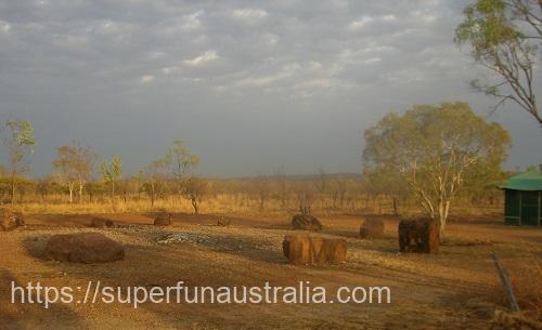 キャサリン オーストラリア キャンプ