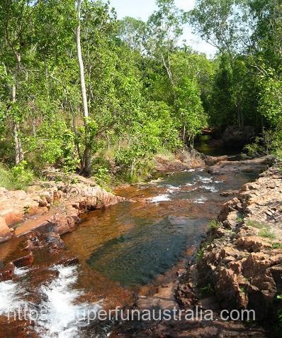 リッチフィールド国立公園 フローレンス・フォールス (1)