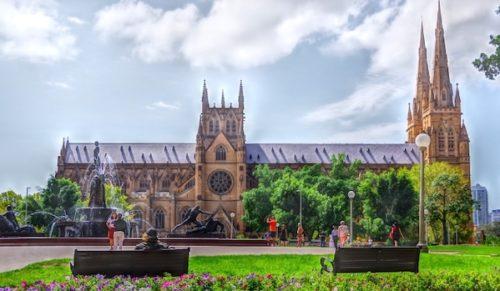シドニー セントメアリー大聖堂