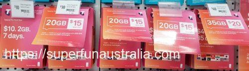 オーストラリア SIM