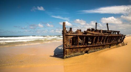 フレーザー島 沈没船